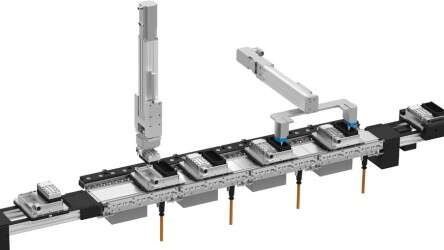Transport system MCS®: synchronise modules with different cycle times