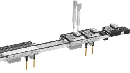 Transport system MCS®: screw-in positions