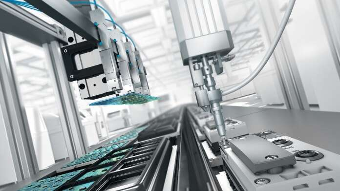 Applications in the electronics industry