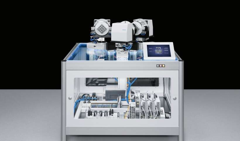 Festo SupraCycle: cross-system conveying
