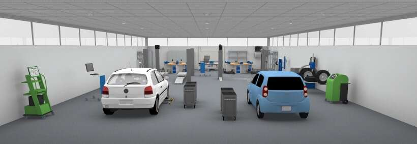 Learning environment for automotive