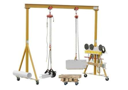 Rigging-Learning system-Gantry crane