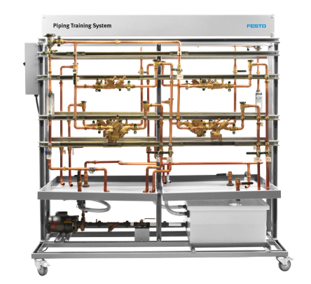 Learning system for piping