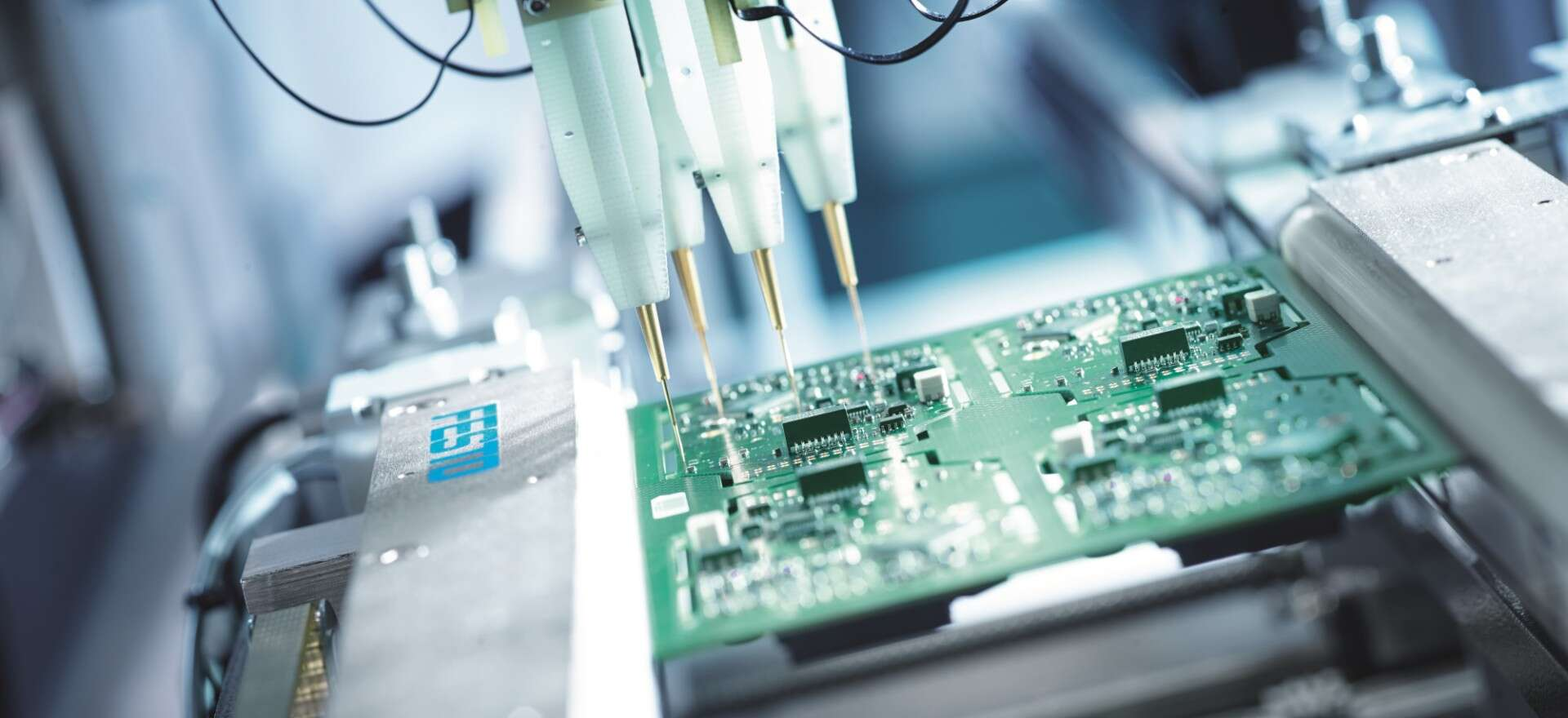 Testing in the electronics industry