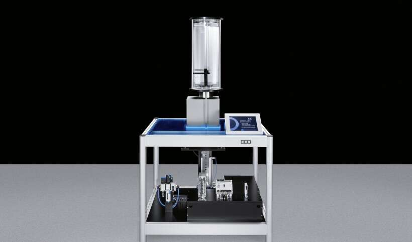 Festo SupraSensor: separating working space and equipment