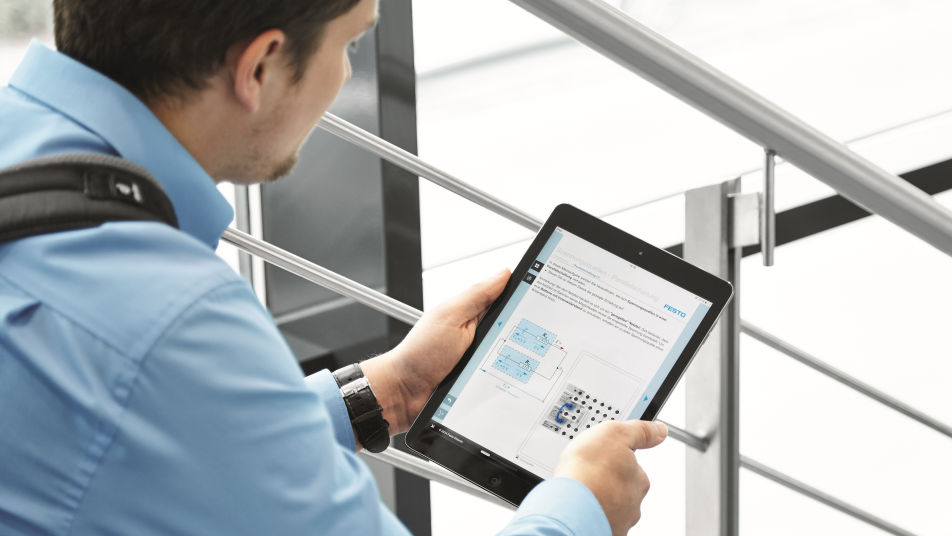E-learning at Festo Didactic