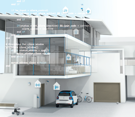 Photo of building automation