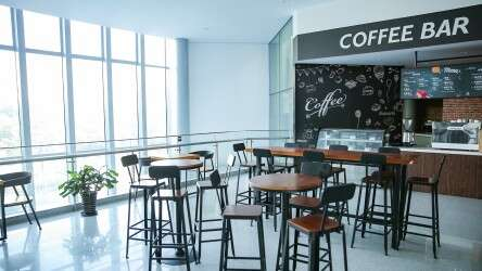 Coffee Bar in Shanghai Office