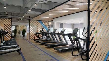 GYM in Shanghai Office