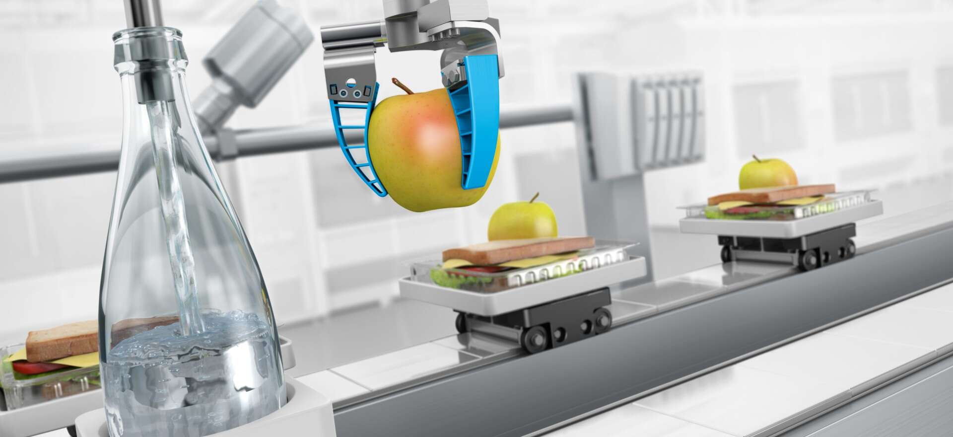 Food processing and the packaging industry
